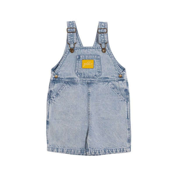 Goldie + Ace Burton Denim Overalls
