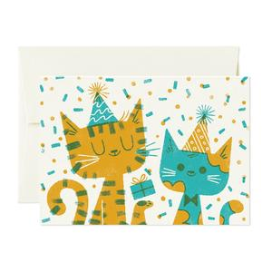 Card Nest Cats Card