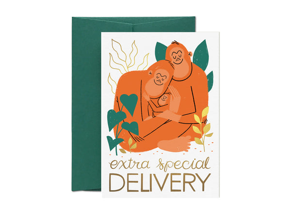 Extra Special Delivery Card