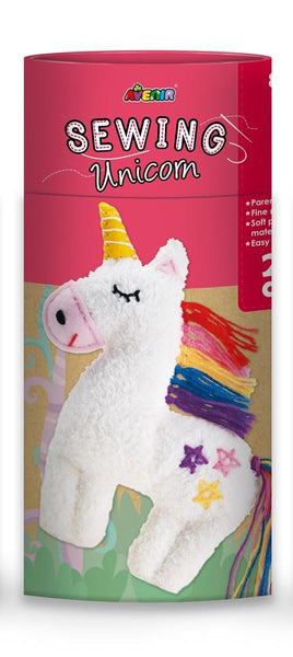 Avenir Clever Hands Sewing Unicorn Plush 25cm