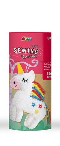 Avenir DIY Sewing Unicorn Key Chain