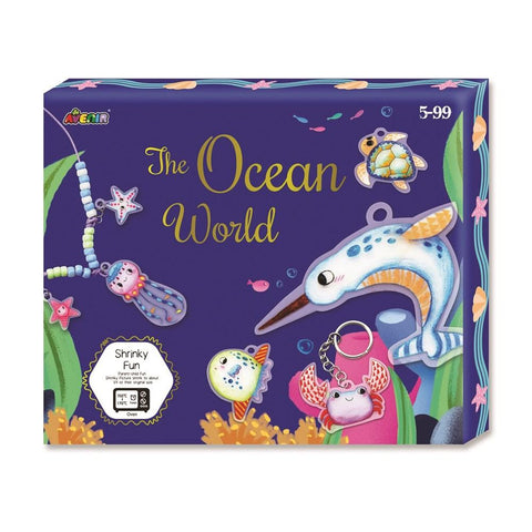 Avenir Shrinky - The Ocean World Box Set