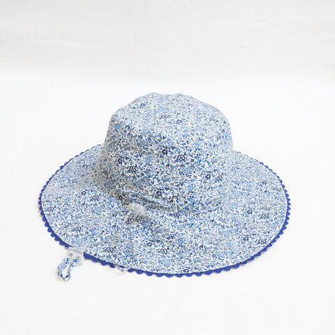 Pretty Wild Charlie Summer Hat Blueberry