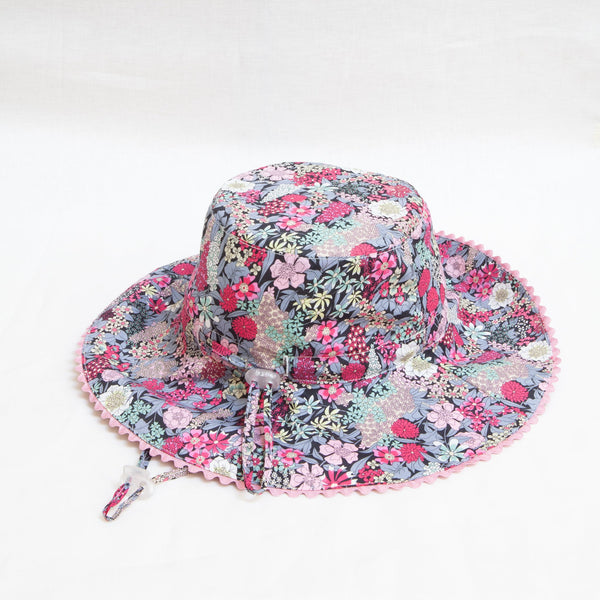 Pretty Wild Charlie Summer Hat Raspberry