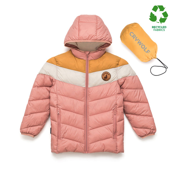 Cry Wolf Eco Puffer - Dusty Rose