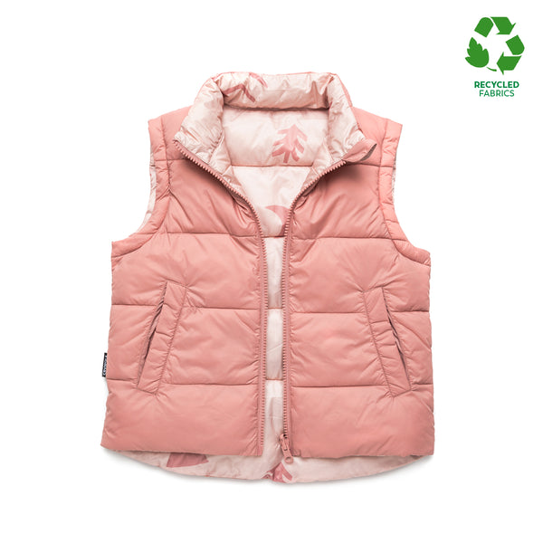 Cry Wolf Reversible Vest - Campfire Rose