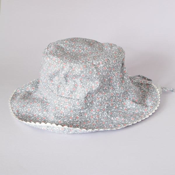 Pretty Wild Charlie Summer Hat Grey Berry