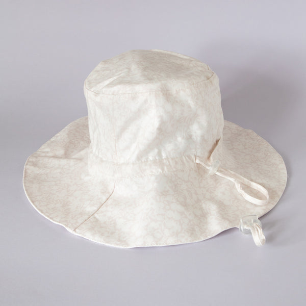 Pretty Wild Charlie Summer Hat Pale Pink Flowers