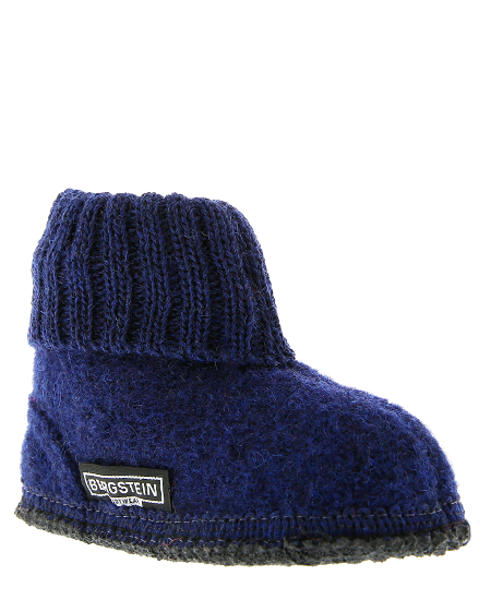 Bergstein Cozy Kids Slippers Dark Blue