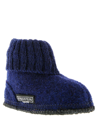 Bergstein Cozy Slippers Dark Blue