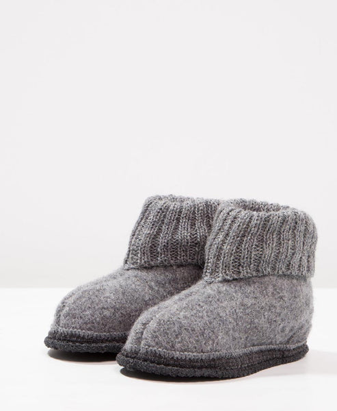 Bergstein Cozy Kids Slippers Grey