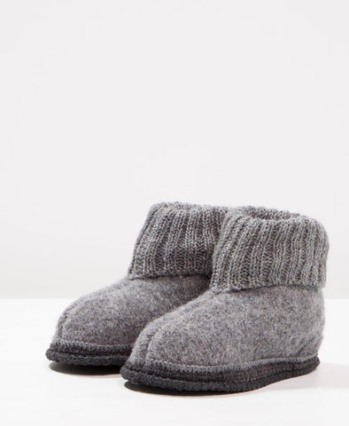 Bergstein Cozy Slippers Grey
