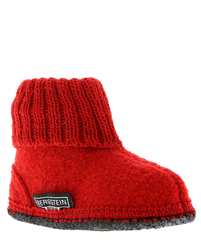 Bergstein Cozy Kids Slippers Red