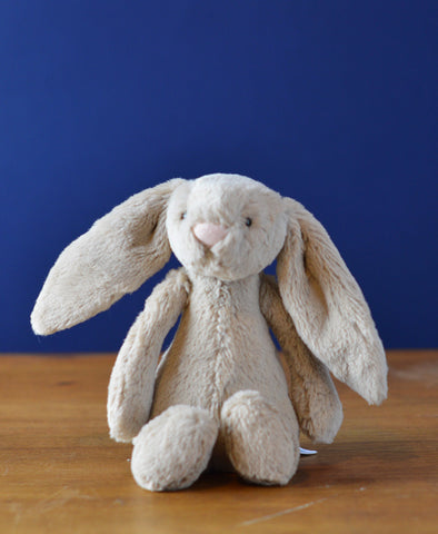 Jellycat Beige Bashful Bunny - Medium