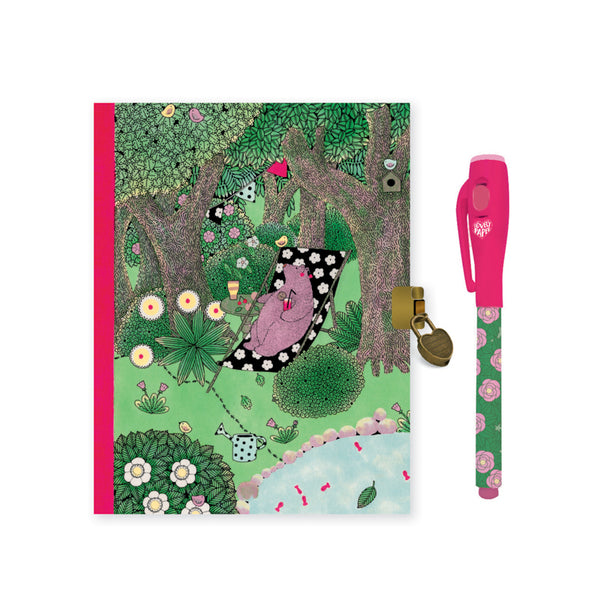 Djeco Fanny Secret Notebook with Magic Pen
