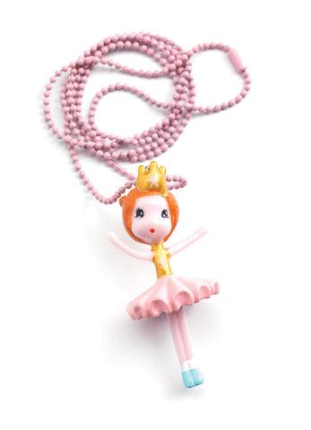 Djeco Lovely Charms Ballerina Necklace