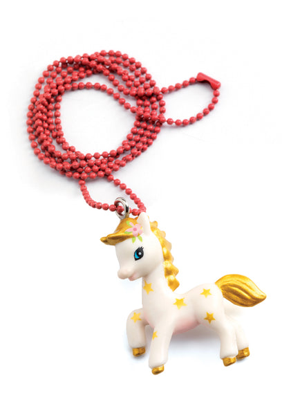 Djeco Lovely Charms Pony Necklace