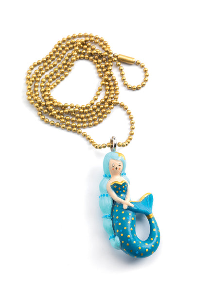 Djeco Lovely Charms Mermaid Necklace