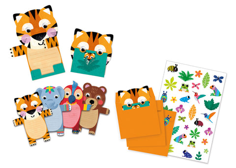 Djeco Wild Animals Party Invitations