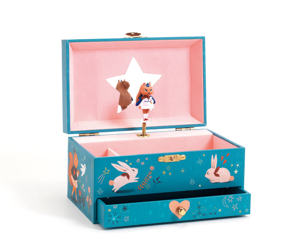 Djeco Deer Music Box Magic Melody