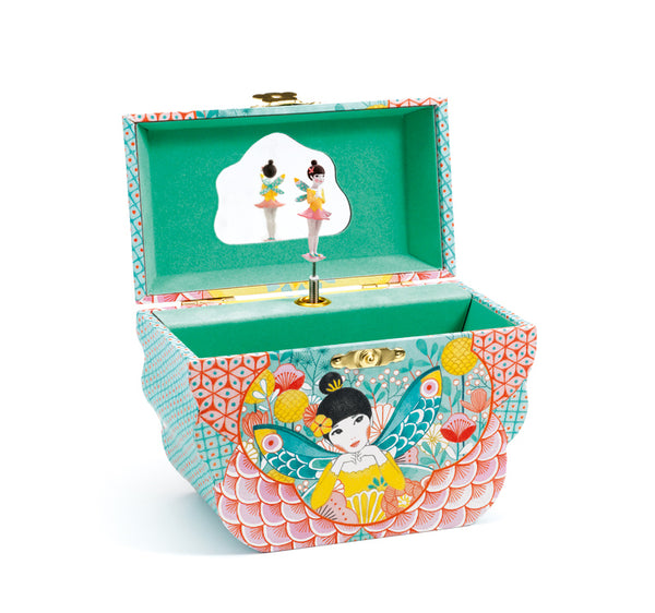 Djeco Deer Music Box Flower Melody