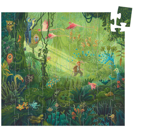 DJeco Silhouete Puzzle The Jungle
