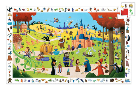 Djeco Tales 54 Piece Observation Puzzle