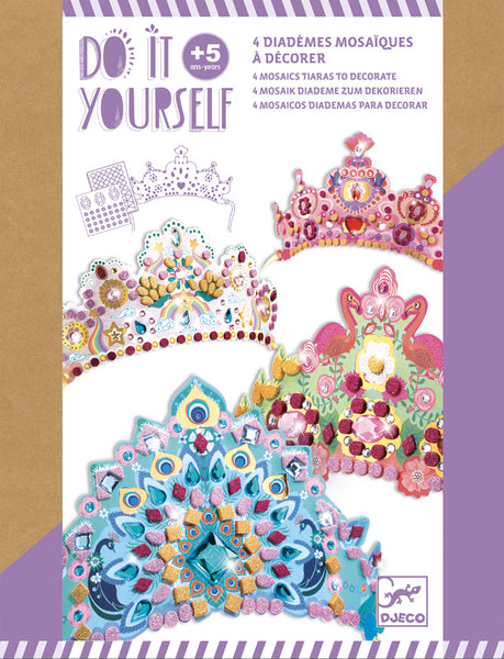Djeco Do It Yourself Princess Tiaras