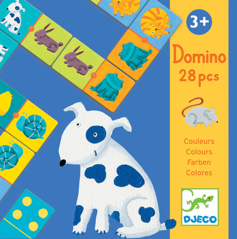 Djeco Colour Animals Dominoes