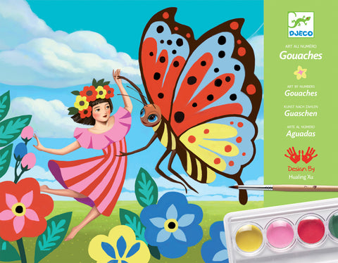 Djeco Minuscule Gouaches Painting Set