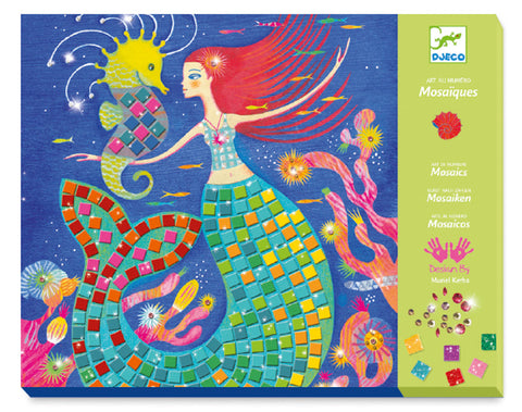 Djeco The Mermaids Song Mosaic Kit