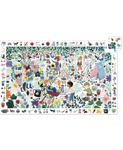 Djeco 100pc Flowers Observation Puzzle