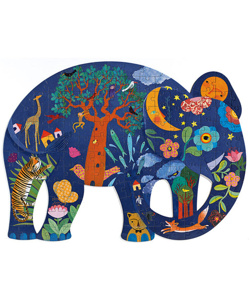 Djeco Gallery Elephant - 150pc