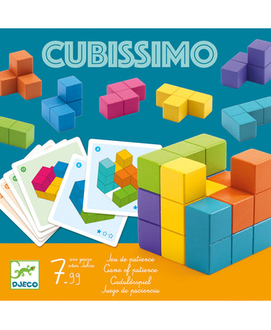 Djeco Game Teaser Cubissimo