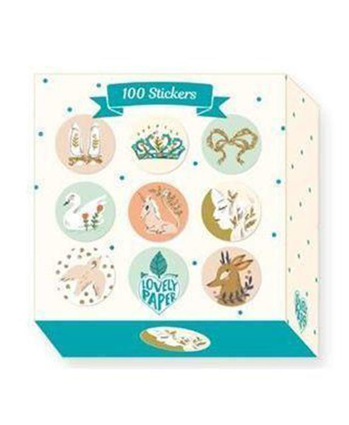 Djeco Lucille Box of Stickers