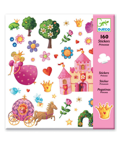 Djeco Stickers Princess Marguerite 160pc