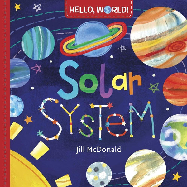 Hello World Solar System Board Book