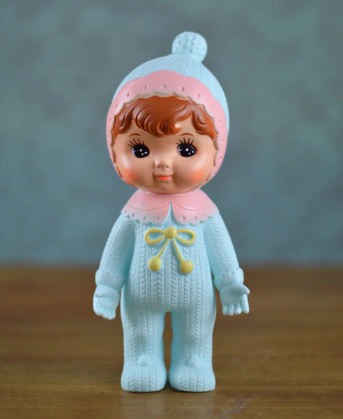 Lapin and Me Woodland Doll: Bobble - Turquoise