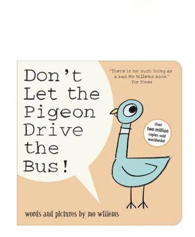 Don't Let the Pigeon Drive the Bus Boad Book