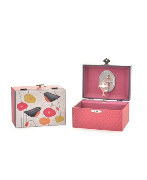 Egmont Poppies Jewellery Music  Box