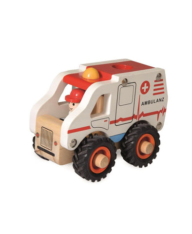 Egmont Wooden Ambulance