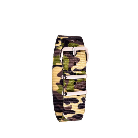 EasyRead Time Teacher Replacement Watch Strap: Green Camo