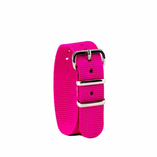 EasyRead Time Teacher Replacement Watch Strap: Bright Pink