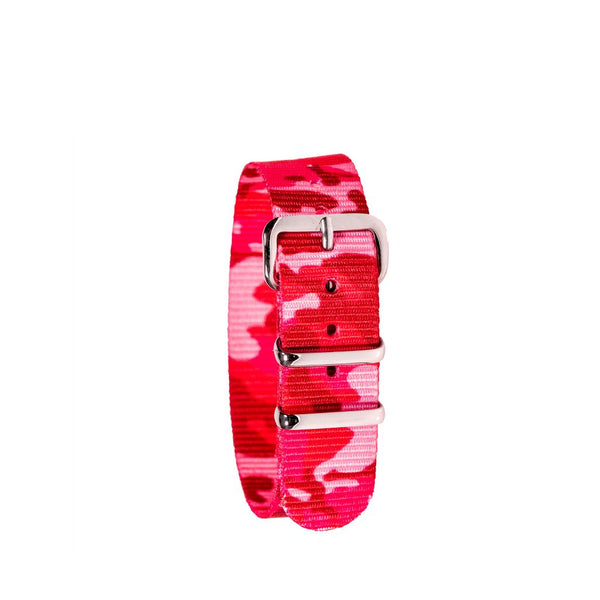 EasyRead Time Teacher Replacement Watch Strap: Pink Camo