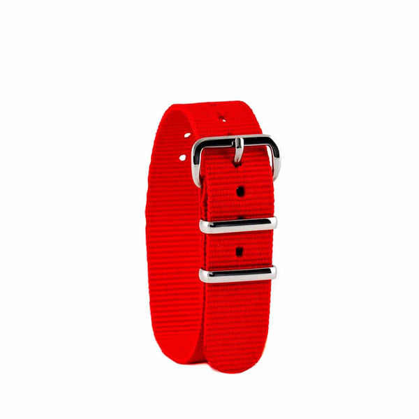 EasyRead Time Teacher Replacement Watch Strap: Red