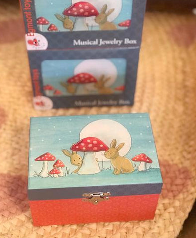 Egmont Rabbit Jewellery Music  Box
