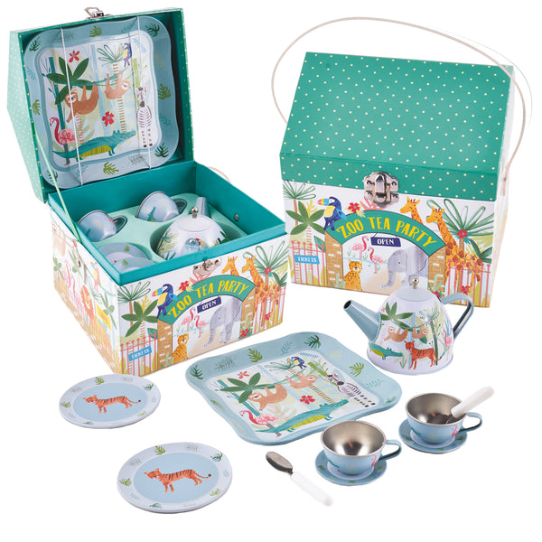 Copy of Floss and Rock Teaset 11pc Jungle