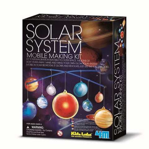 Kidz Labs 4M Solar System Making Kit