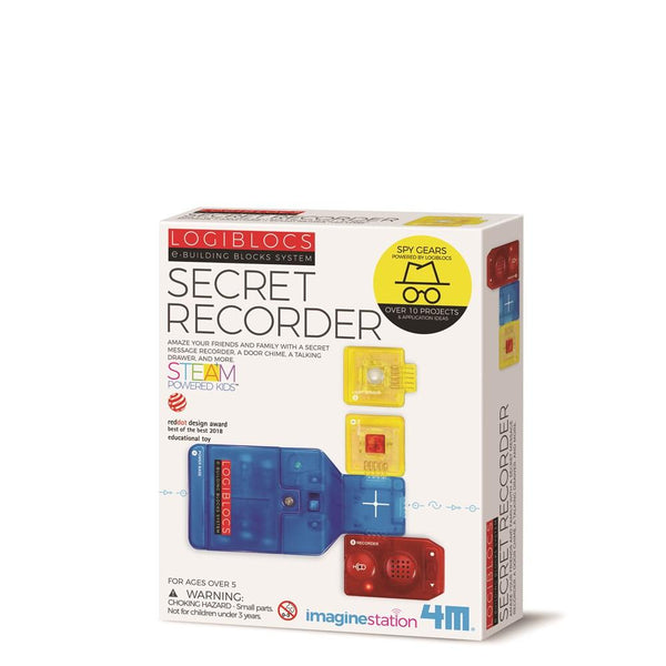 4M Logiblocks Secret Recorder