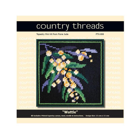 Country Threads Tapestry - Wattle